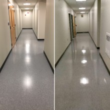 Floor Care Before & After example 1