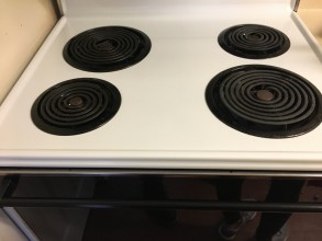After Cleaning Oven Stove top