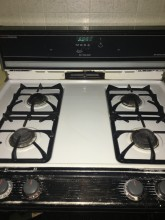 Cleaned oven
